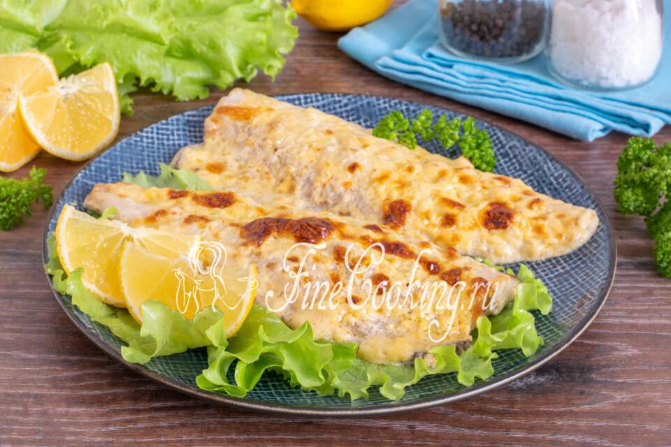 Скумбрия с сыром, запеченная в духовке