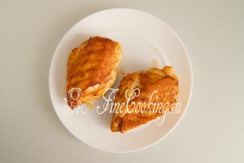 Сочная куриная грудка. Шаг 9
