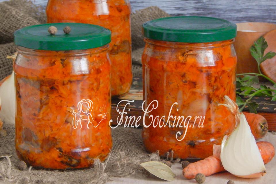 как приготовить вкусную овощную солянку с грибами на зиму?