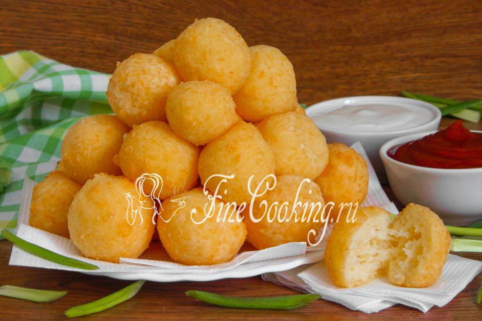 Сырные шарики из колбасного сыра рецепт