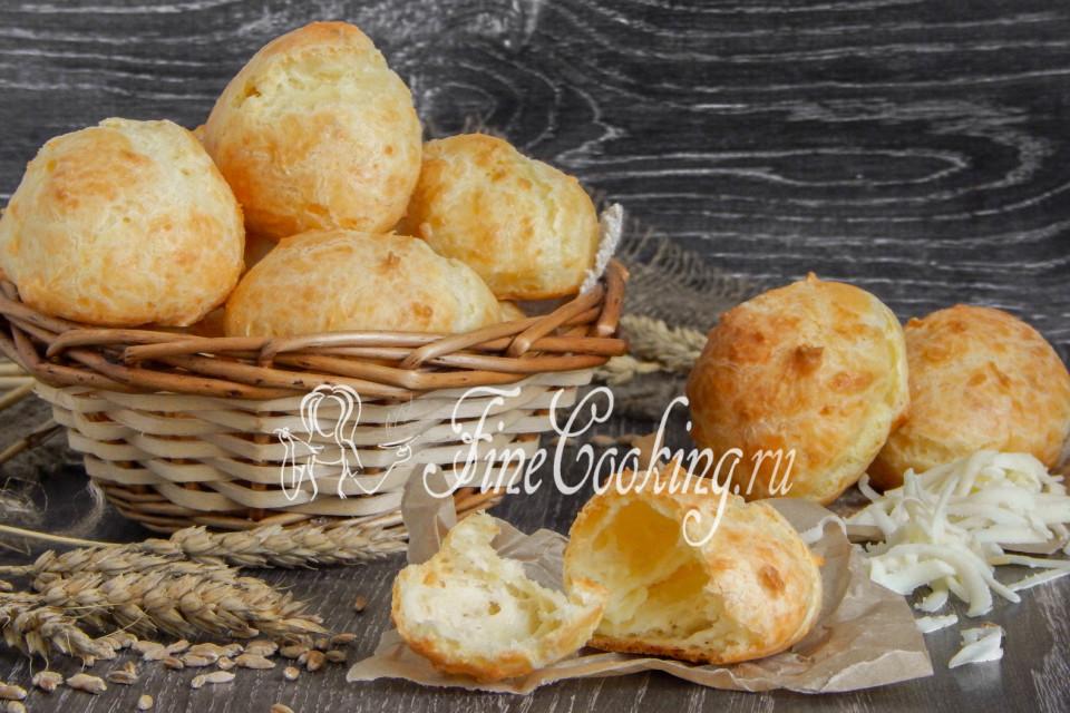 Сырные заварные булочки (гужеры)