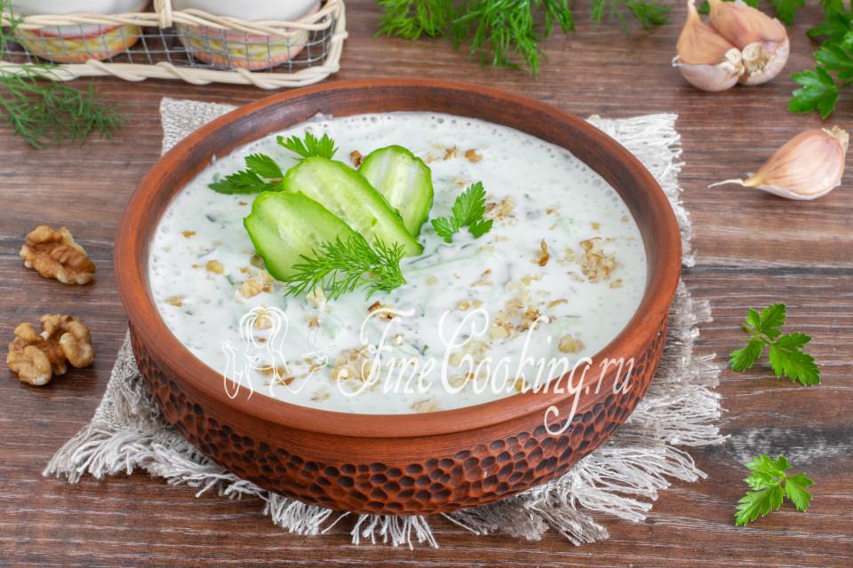 Таратор - болгарский суп