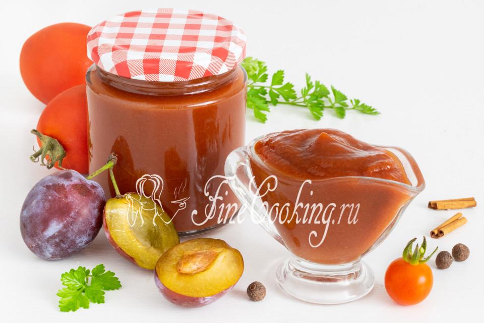 Томатно-сливовый кетчуп