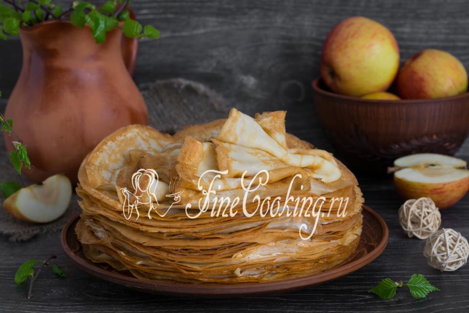 рецепт тонких блинчиков на молоке фото рецепт