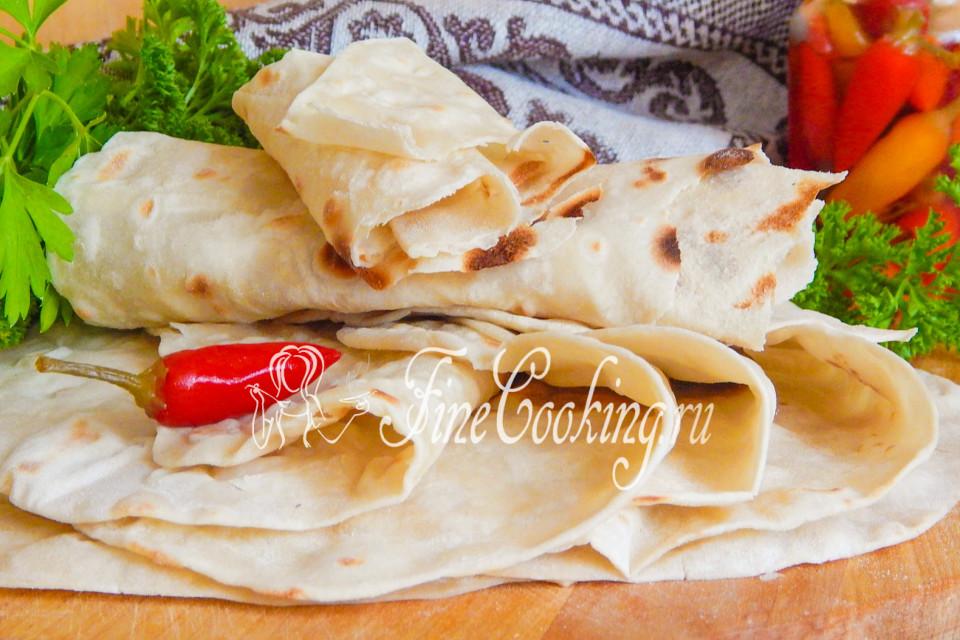 лаваш армянский рецепт без дрожжей