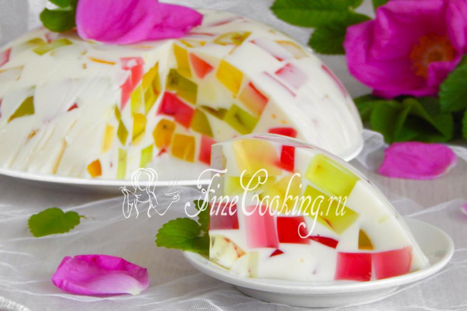 Десерт битое стекло рецепт видео