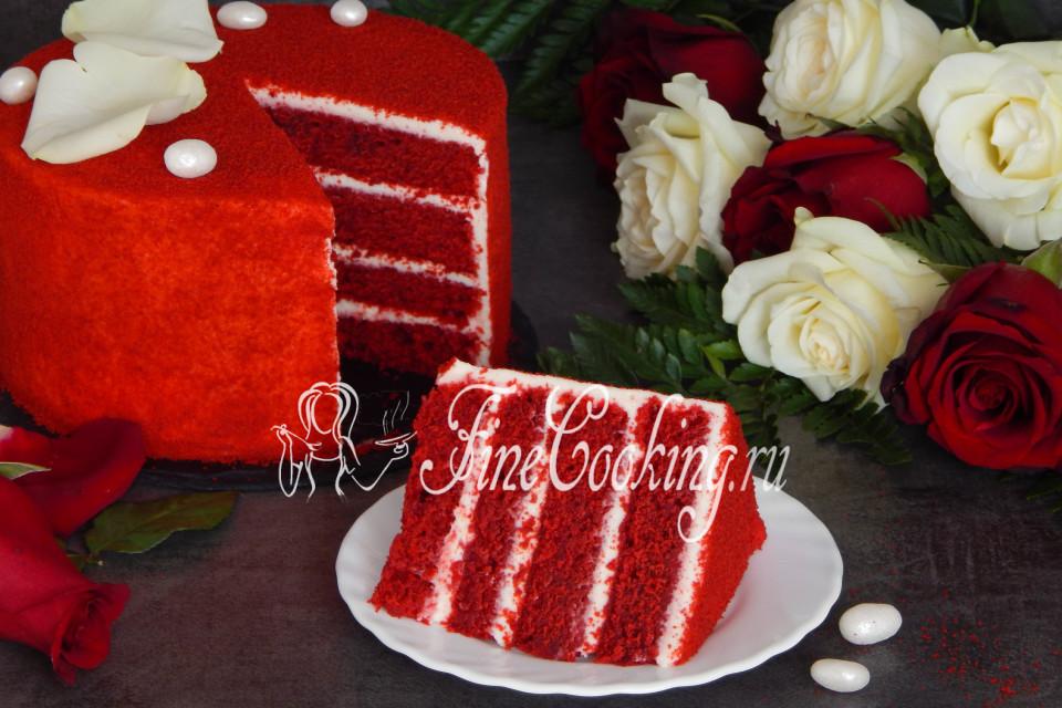 красный бархат торт картинки