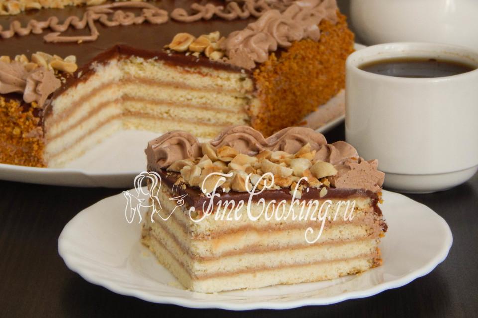 Торт ленинградский по госту рецепт
