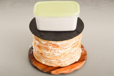 Торт Наполеон в домашних условиях. Шаг 46