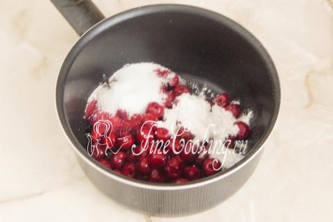 Торт Рождественское полено. Шаг 9