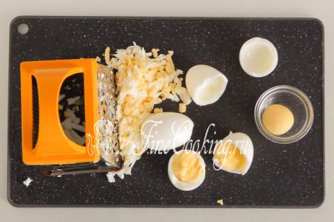 Торт-салат Селедка под шубой. Шаг 8