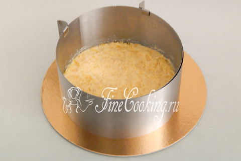 Торт-салат Селедка под шубой. Шаг 11