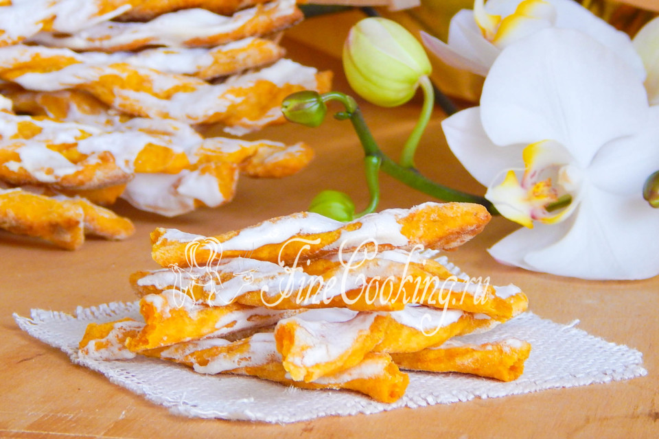 Вкусное морковное печенье