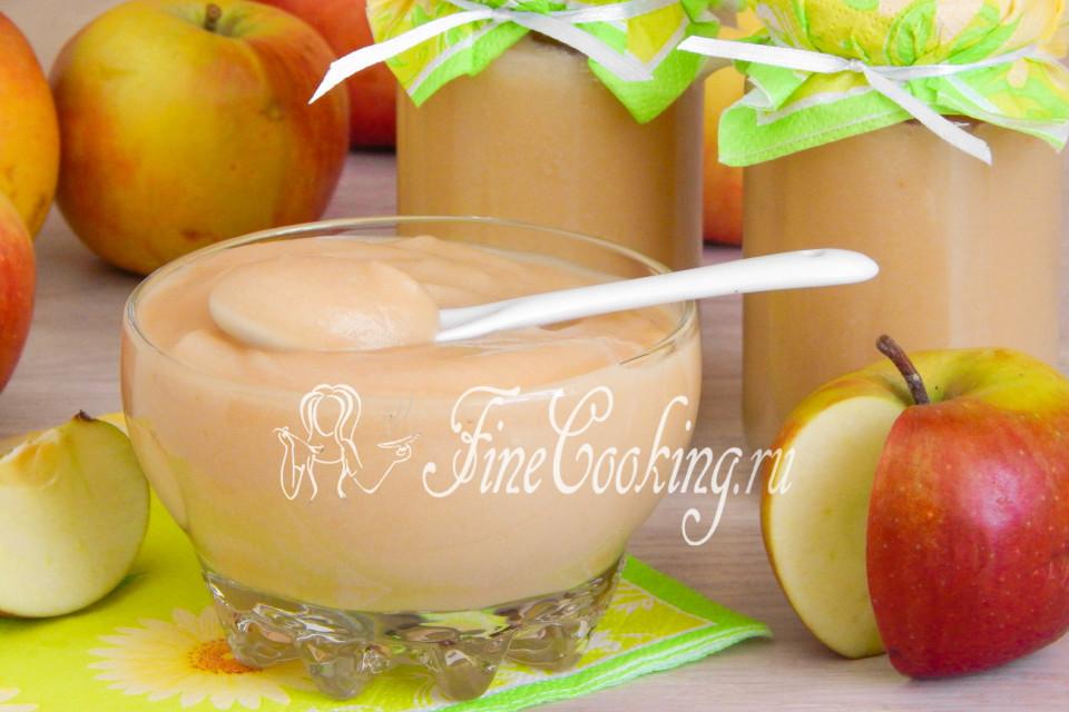Яблочное пюре Неженка