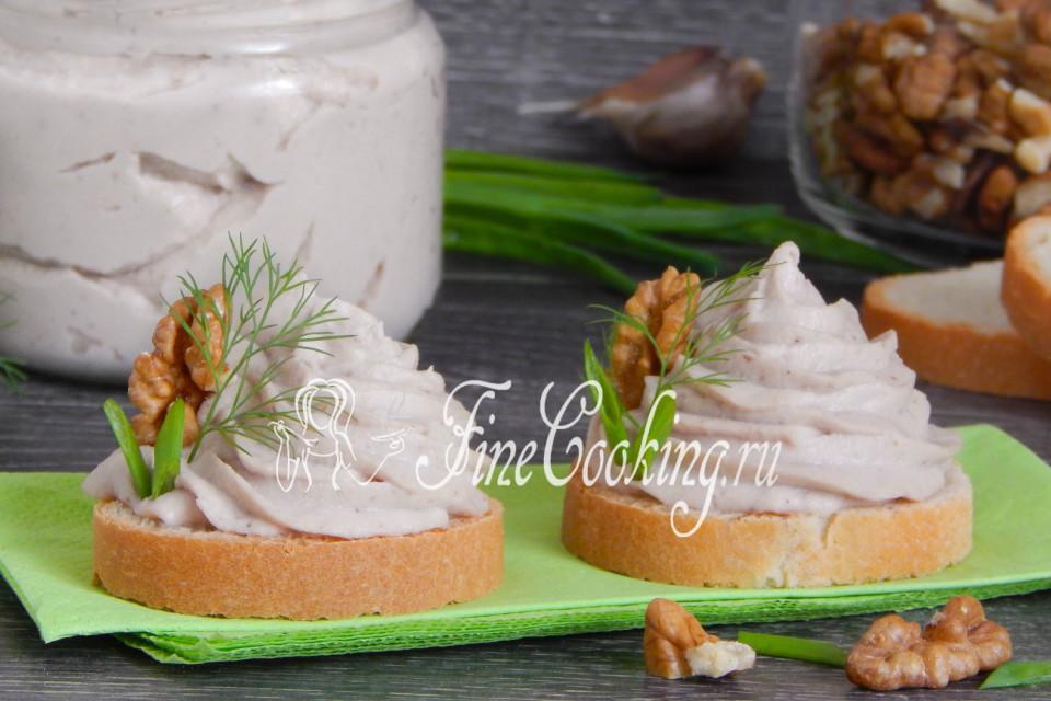 Венгерский паштет из яиц - рецепт пошаговый с фото