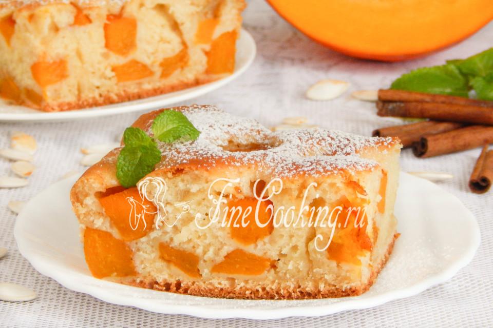 Рецепты пирога с тыквой в духовке
