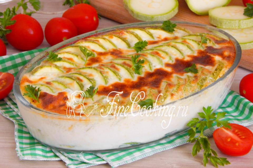 вкусные рецепты из кабачков в духовке с фото