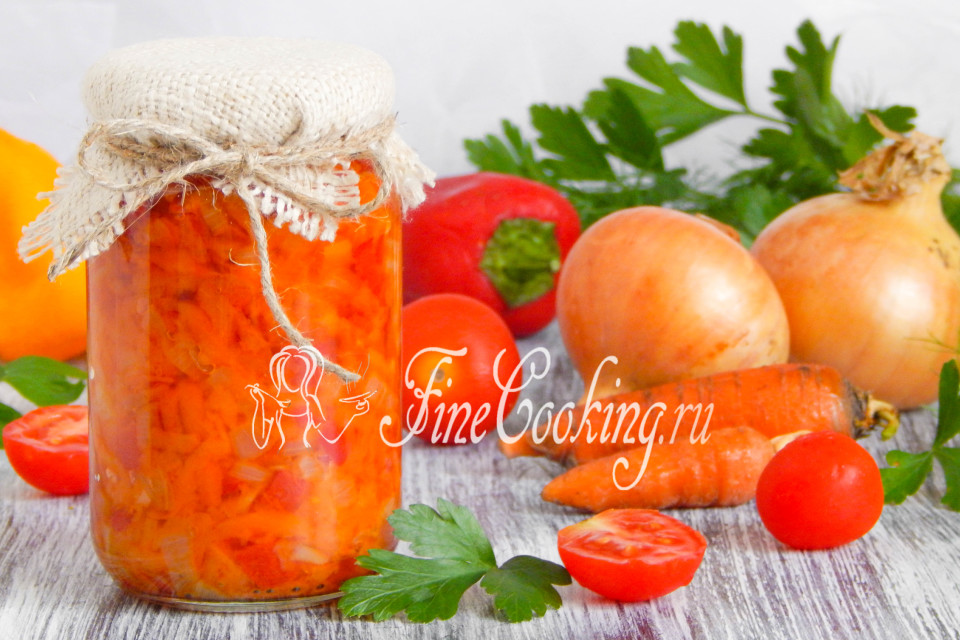 заготовки на зиму заправка для супа рецепты с фото