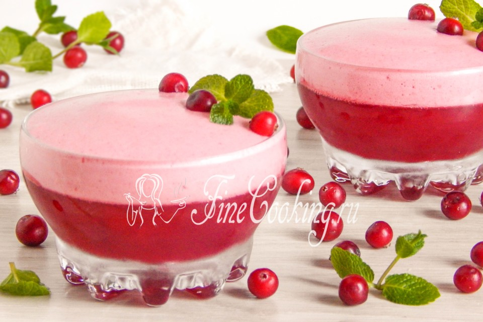 морсы ягодные с желе рецепты